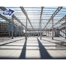 Hot Dipped Galvanized Light Industrial Design Steel Structure Building Workshop For Sale