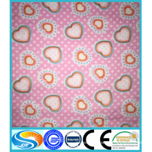 100% cotton printing garment flannelette / flannel fabric