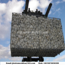 Hot-dip Galvanized Hexagonal Mesh Box Gabion