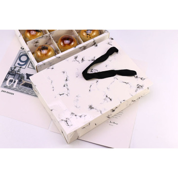 marble design paper  packing cookie box
