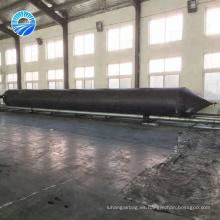 Airbags de goma inflables marinas del fabricante de clase mundial para el lanzamiento de la nave