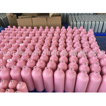 Small Customized Pink Aluminum Cylinders 2L