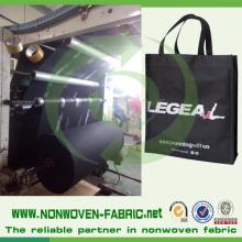Nonwoven / Non Woven PP Material für Einkaufstaschen