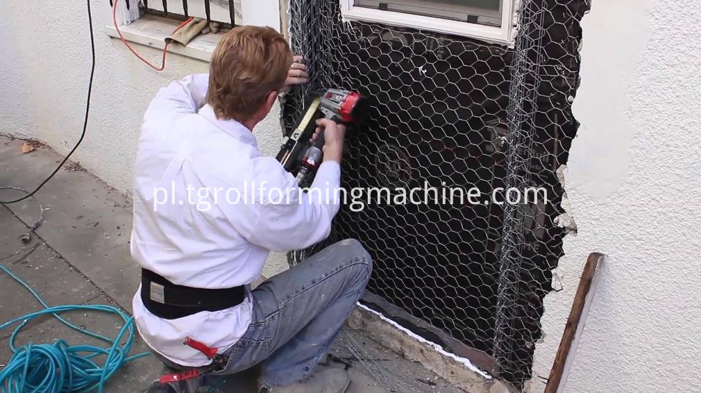 Metal Rib Lath Mesh Machine