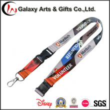 Logo Customized Polyester Dye-Sublimated Lanyard for ID Card Made by Lanyard Printing Machine