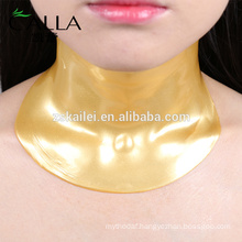 24k nano gold anti wrinkle neck mask sheet
