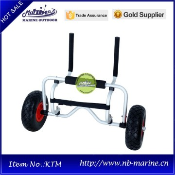 Folding beach cart, Surfboard beach cart, Folding aluminum kayak cart