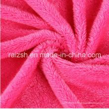 Beiji Rong poliéster veludo pano de brinquedos cobertores, tecidos de malha