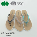 Fashion Women Summer New Design Plastic Flip Flops