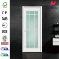 Italy Profile Gaoming Silver Interior Glass Door