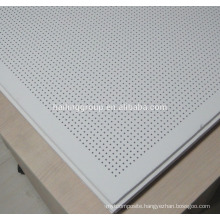 Hot Selling Acoustic Perforated Gypsum Board