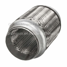 Interlock Stainless Steel Flex Pipe with Outer Braid