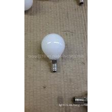Bulbo lechoso del filamento de G45 LED con el CE RoHS
