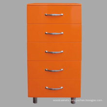 Colorized Chest of Drawers with High Gloss (1409-1)