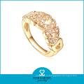 925 серебро золото Цвет ювелирные изделия кольцо в заводской цене (Р-0417)