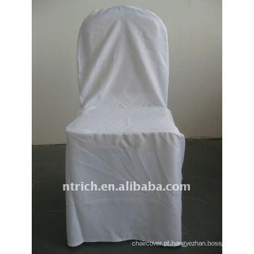 Padrão de cobertura de cadeira de banquete padrão cor branca, CTV549