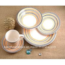 Cute Design 5 PCS Ceramic Dinnerware (set)