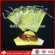 El abastecimiento de la fábrica modifica la caja y los bolsos suaves de las lentes de la tela