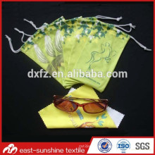 Factory Supplying Customize fabric Soft eyeglasses case&bags