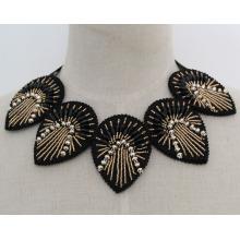 Мода Шарм Кристалл костюм коренастый воротник ожерелье (JE0163)