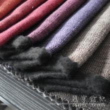 Полиэфирные декоративные льняные ткани обивки