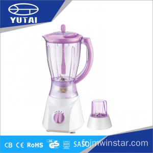 2 vitesses Blender en plastique Grinder filtre Chopper