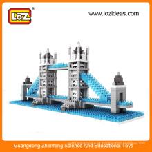 LOZ diy crianças arquitetura bloco de brinquedo / blocos arquitetônicos