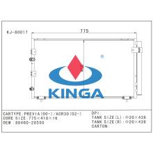 Kühlsystem-Selbstkondensator-Teile für Toyota Previa 00/ACR30 02