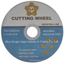 Disco de corte de acero inoxidable de alta calidad Kexin abrasivo