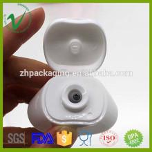 Продовольственная белая HDPE плоская мягкая 40 мл индивидуальная бутылка для кетчупа для продажи