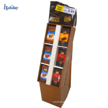 Big Size Corrugated Cardboard Shelves Used to Market,Cardboard Promotional Display Shelf