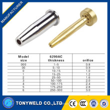 gas cutting torch nozzle 6290AC cutting tip for cutting parts