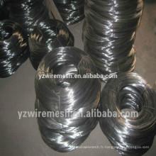 Fil métallique en fil noir recuit vendu en Chine