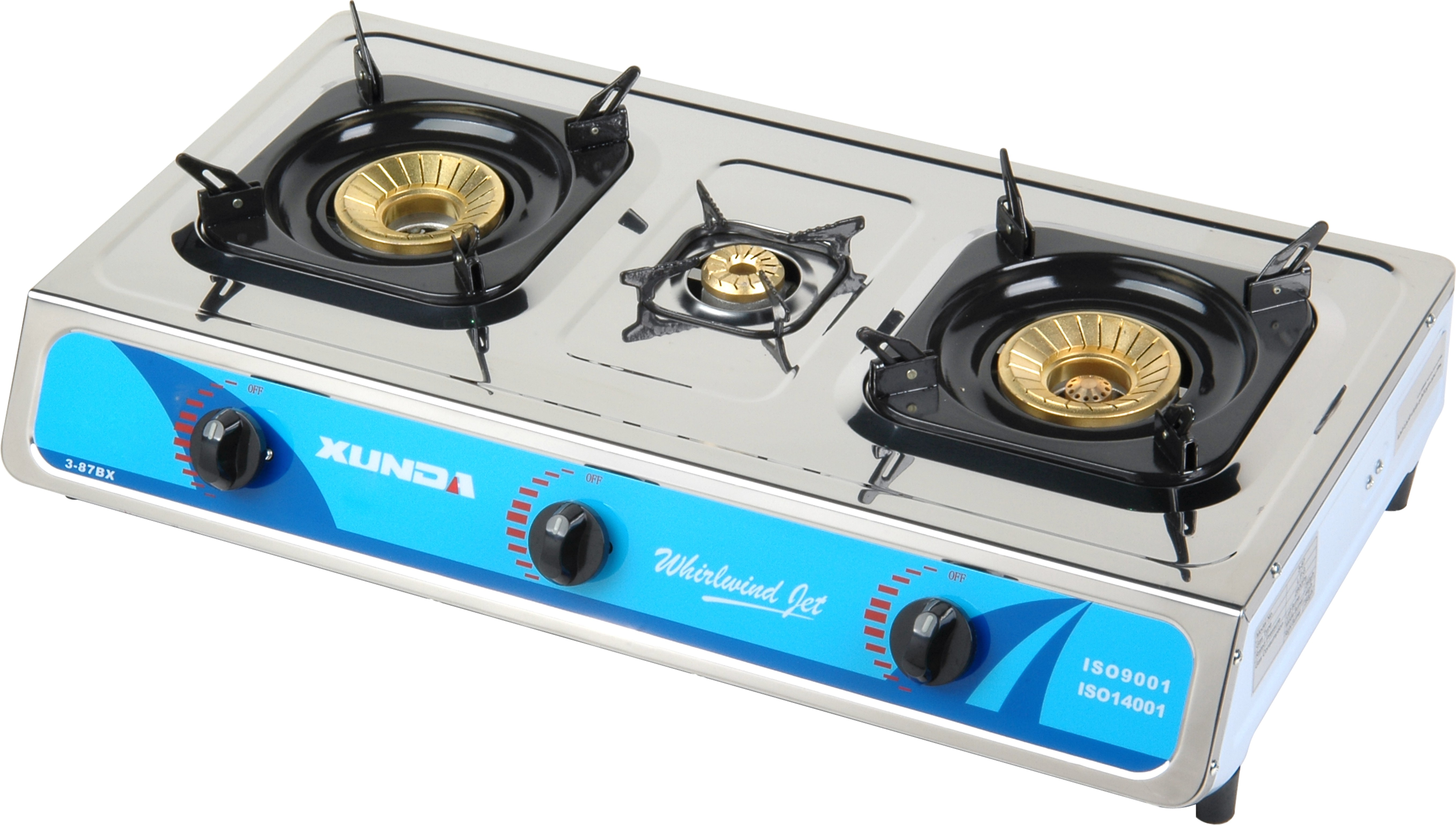 3 Burner Tabletop Gas Burner
