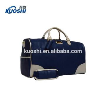 bolso de lona de cuero de alta calidad para viajar