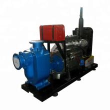 Pompe à eaux usées auto-amorçante à moteur diesel série ZW