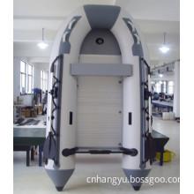 PVC Aluminum Floor High Speed Inflatable Motor Boats