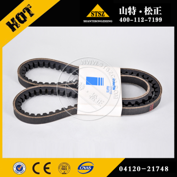 PC200-7 V-BELT AIR CONDITIONER PARTS 04120-21748