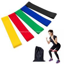 Bandas de Exercício Elástico Promocional de Yoga