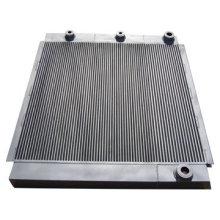 Refrigerador de óleo e ar para compressor de parafuso