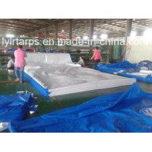 Blue/White, African Stardard Size 4meter by 5 Meter PE Tarpaulin Sheet/PE Tarp/Poly Tarp