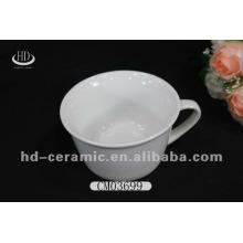 Especialidad cerámica de producción taza de porcelana