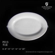 """14 """"Ovale Platte, ovale Folienschale - Hotel & Restaurant"""
