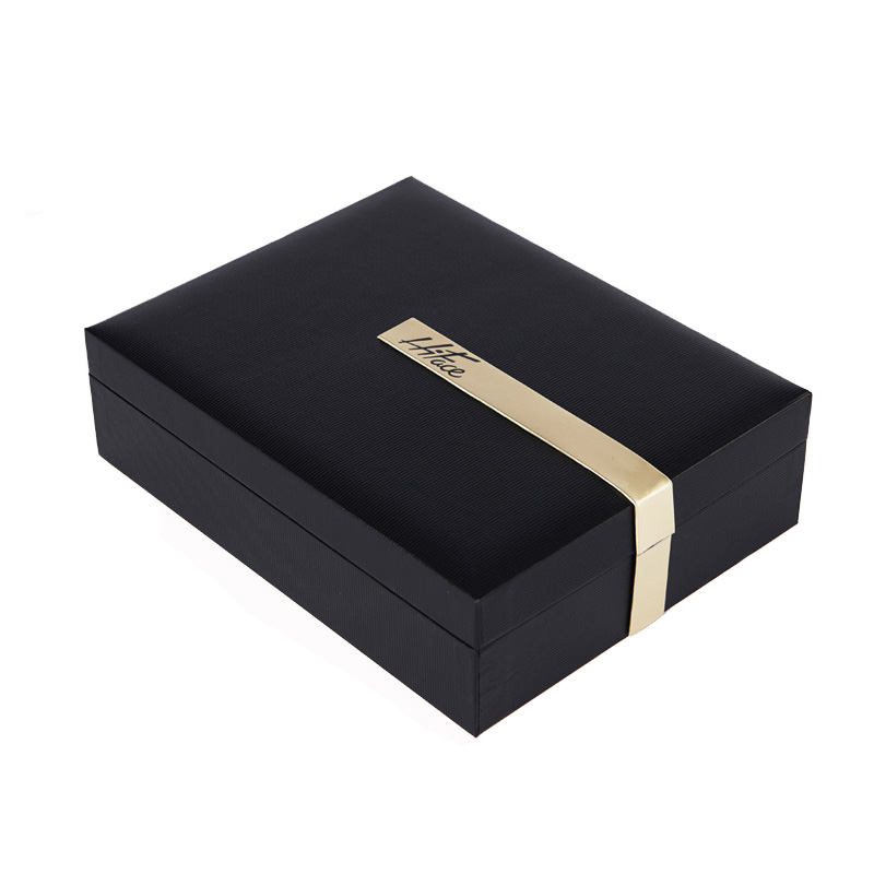 Black Clamshell Gift Box