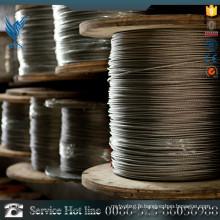 Prix du cordage en acier inoxydable 316, cordage de fil 310 en acier inoxydable importé