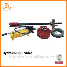 Valve de traction hydraulique pour pompe de forage