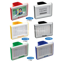 Promotional Plastic Pen Holder W/ Calendar or Photo