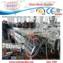 920мм Ширина PVC/любимчика/ПК рифленый лист крыши производства машина