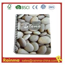 Cuaderno espiral con papel de piedra