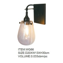 Graceful Glass Wall Lamp with CE & UL (WG66)